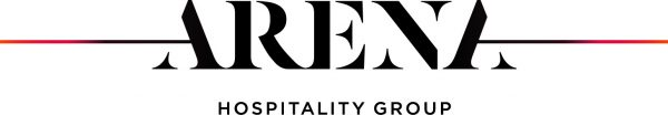 Arena Hospitality logo colour truncated